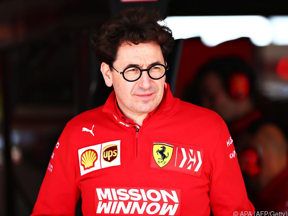 Teamchef Binotto warnt vor voreiligen Handlungen in der Krise