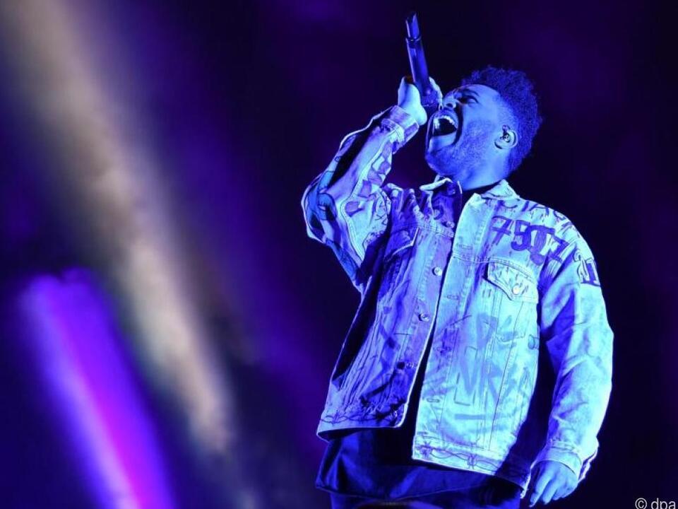 The Weeknd gilt als der Shootingstar der Stunde