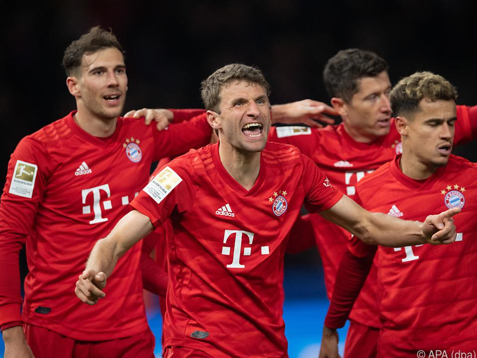 Thomas Müller jubelt noch länger im Bayern-Trikot