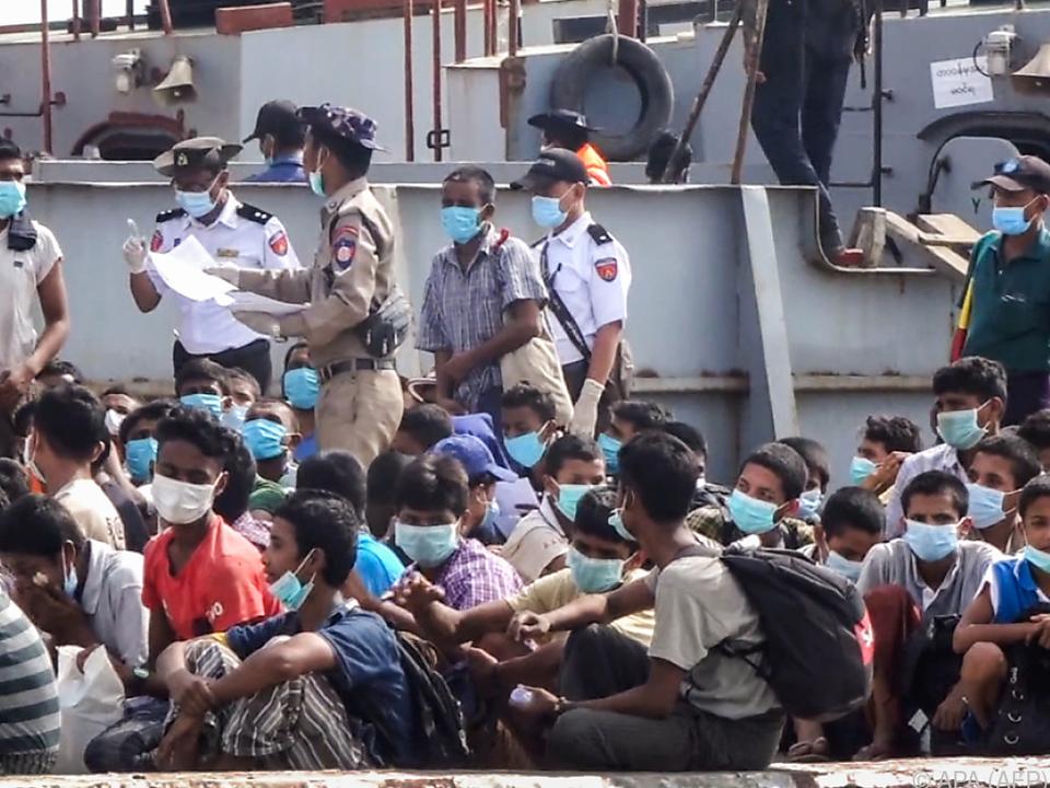 Trotz Pandemie geht Myanmar weiter militärisch vor