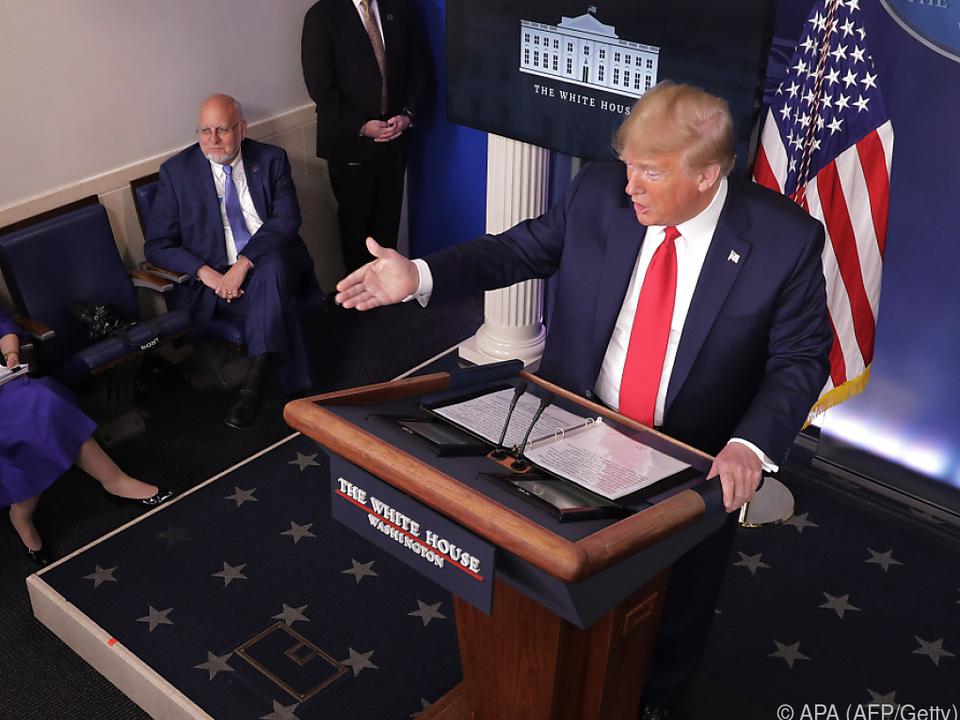Trump will auf Experten hören