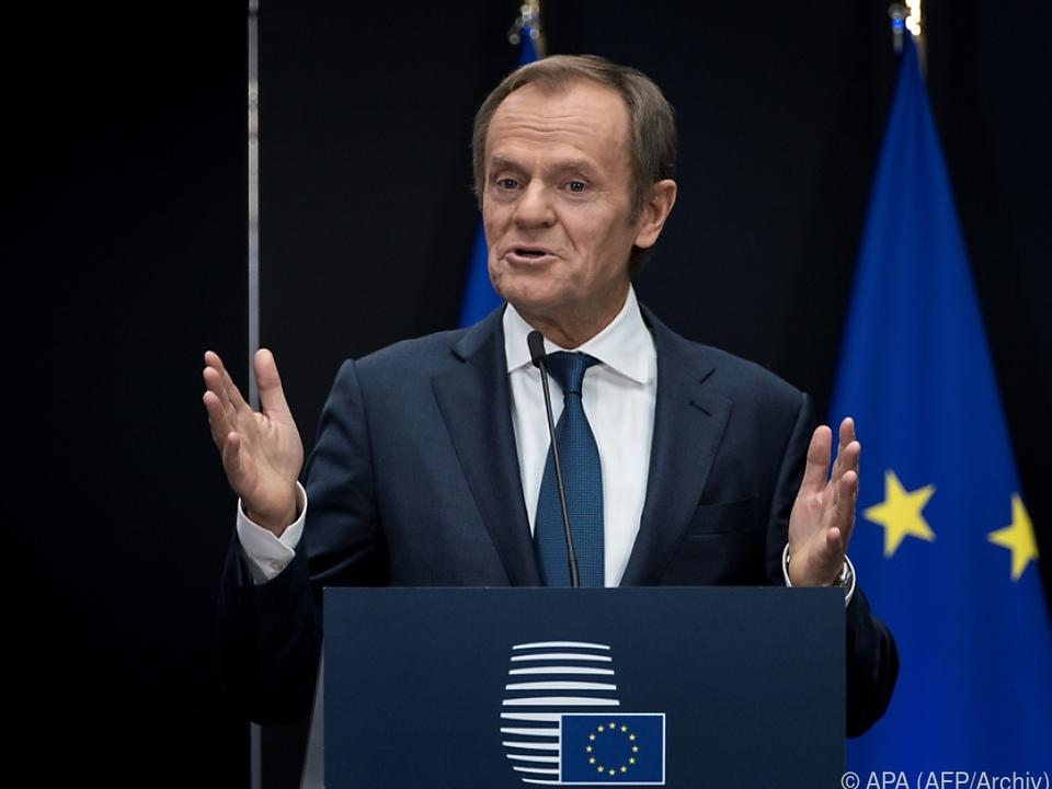 Tusk übt Kritik an der polnischen Regierung