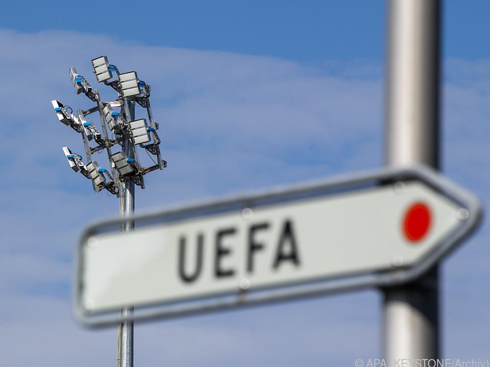 UEFA hielt eine Videokonferenz ab