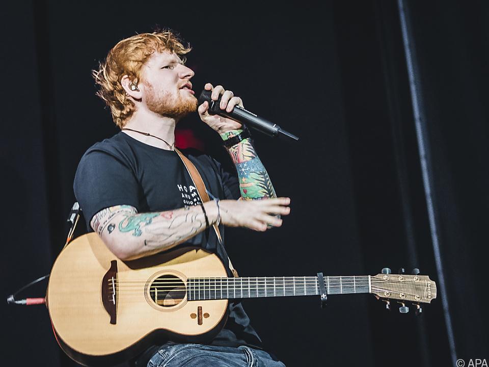 Unter den Stars, die zu sehen sein werden, ist auch Ed Sheeran