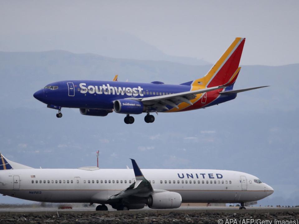 US-Fluglinien liegen finanziell am Boden