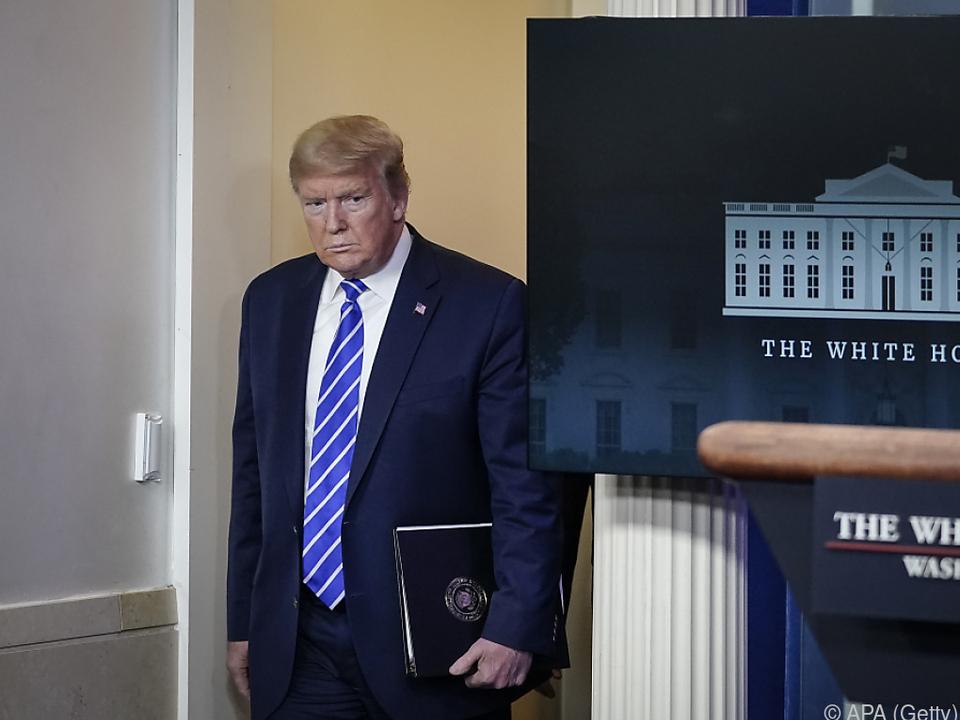 US-Präsident Trump sorgt bei Medizinern für Fassungslosigkeit