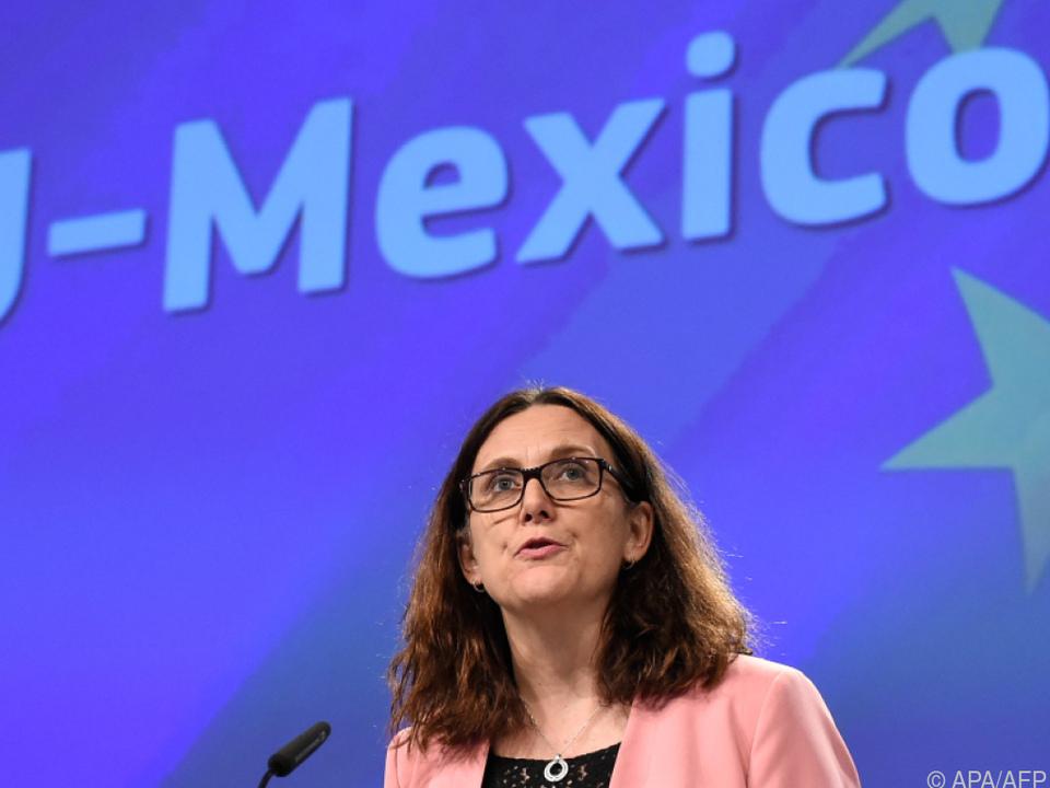 Verhandlungen von EU und Mexiko begannen bereits unter Ex-Handelskommissarin Cecilia Malmström