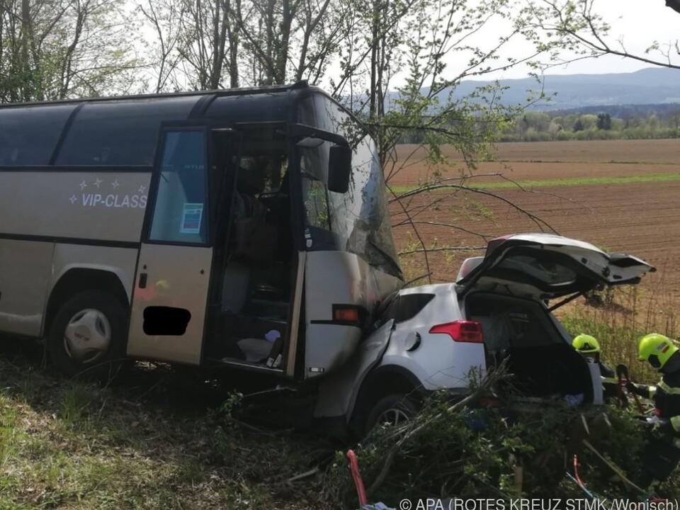 Verheerender Frontalcrash in Mooskirchen