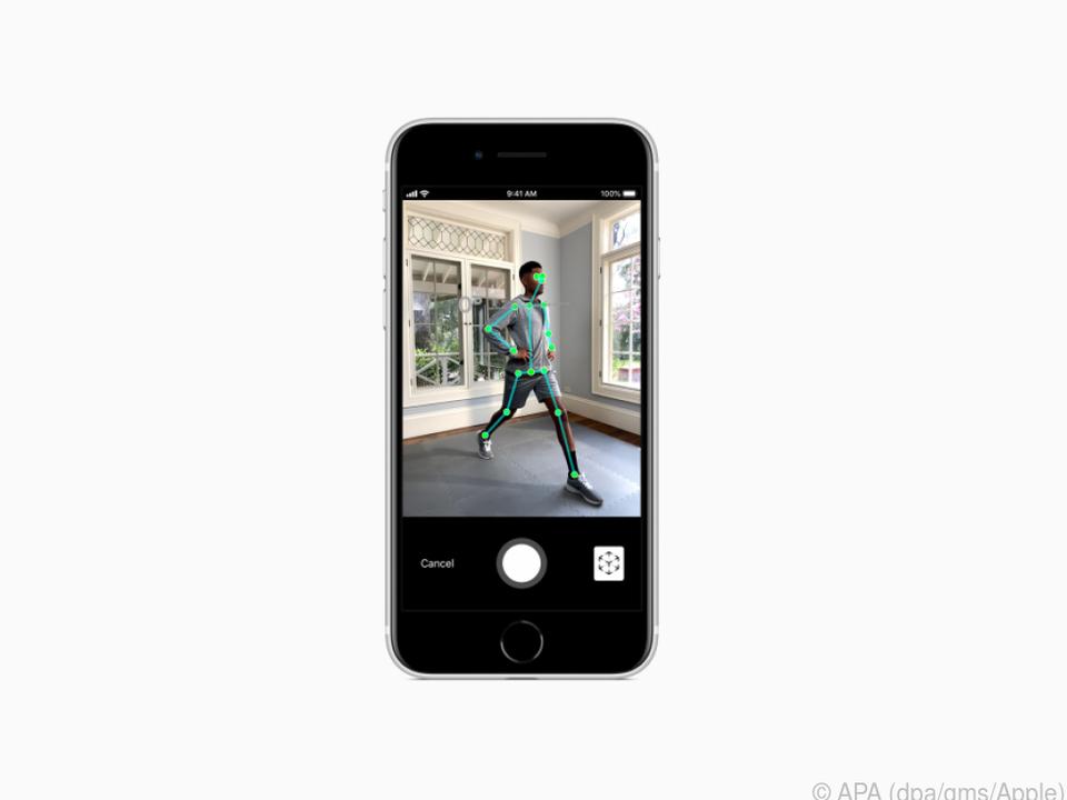 Das iPhone SE lässt sich für viele Augmented-Reality-Anwendungen nutzen