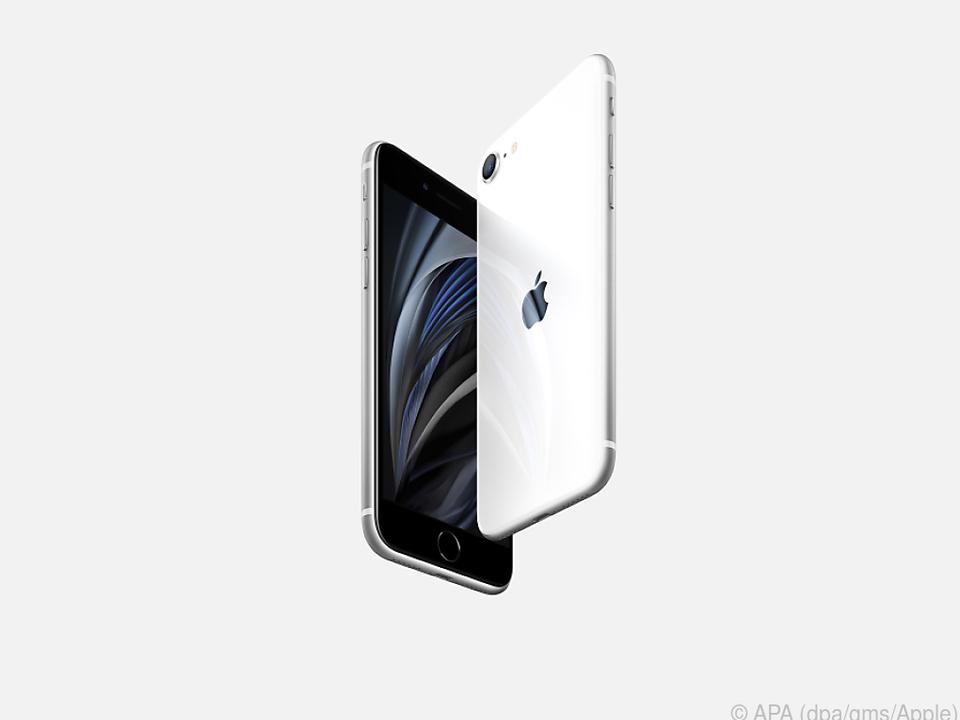 Vorne schwarz, hinten weiß: Das iPhone SE ist Apples neues Einstiegsmodell