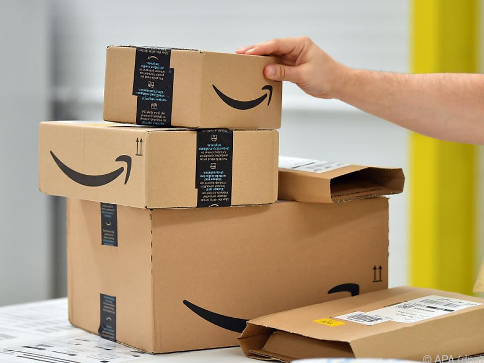 Was in den Packerln steckt, muss Amazon nicht interessieren