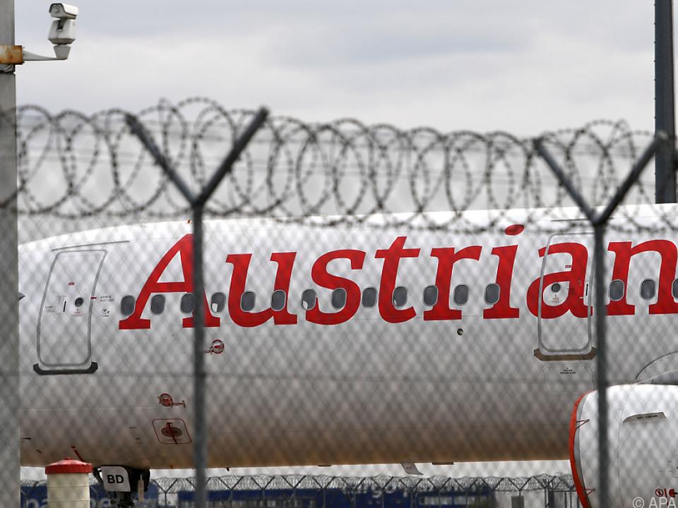 Weitere zwei Wochen Pause für die AUA-Flieger