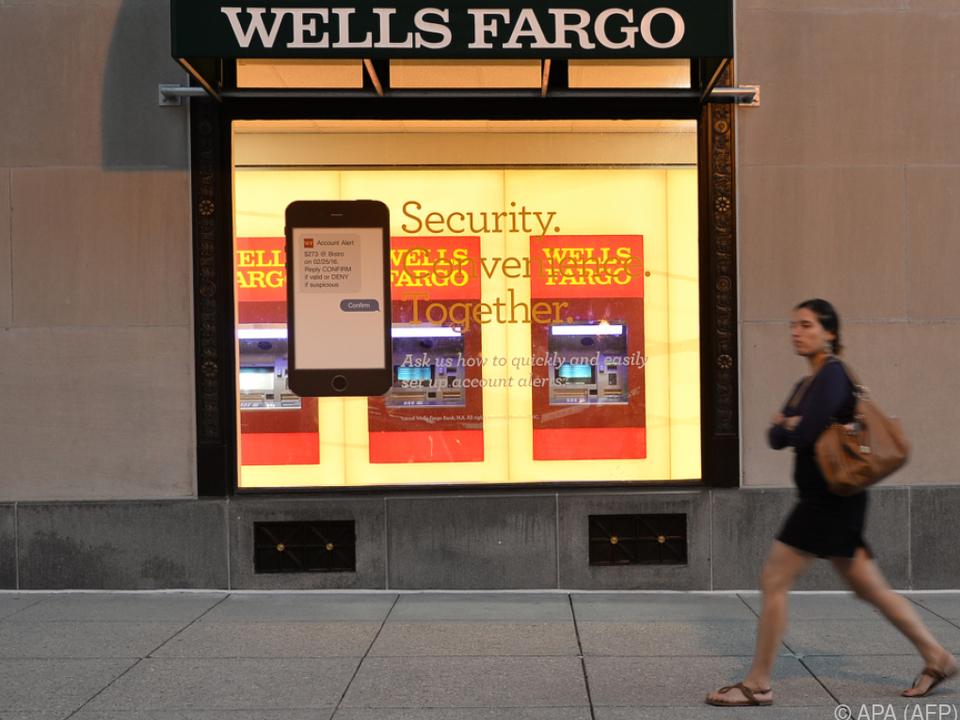 Wells Fargo Bank in Turbulenzen