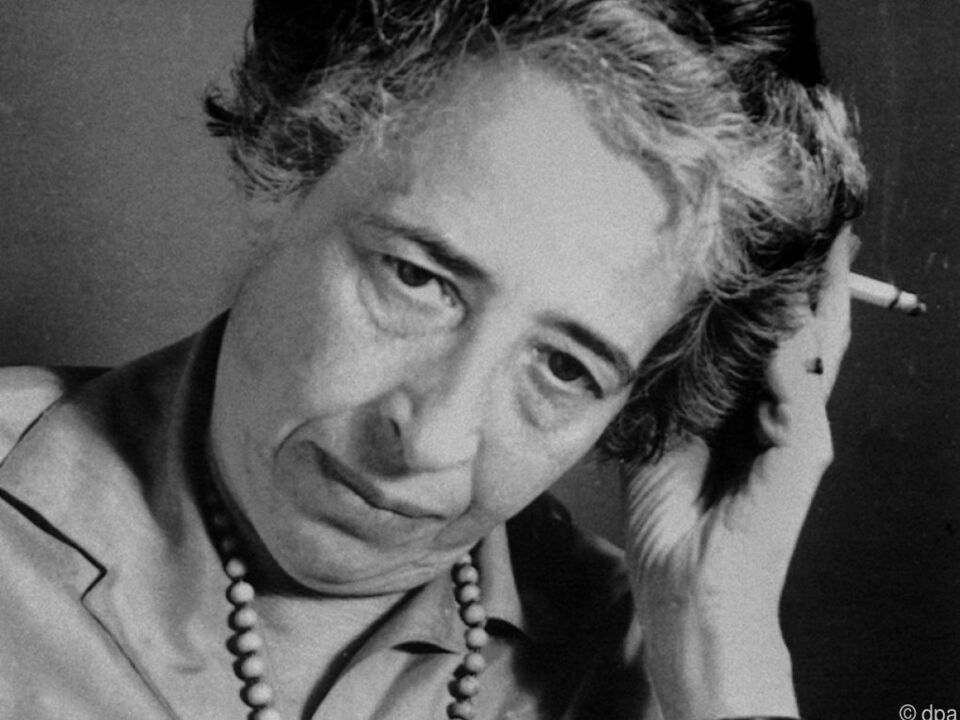 Weltberühmte politische Denkerin Hannah Arendt