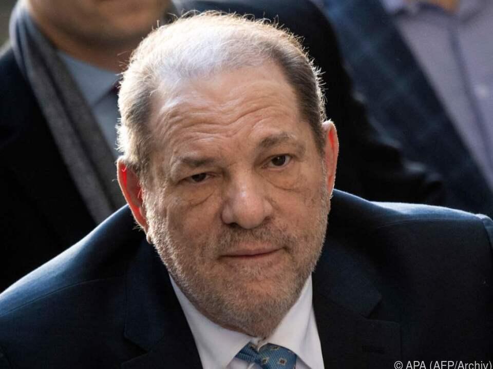 Zusätzliche Anklage gegen Harvey Weinstein