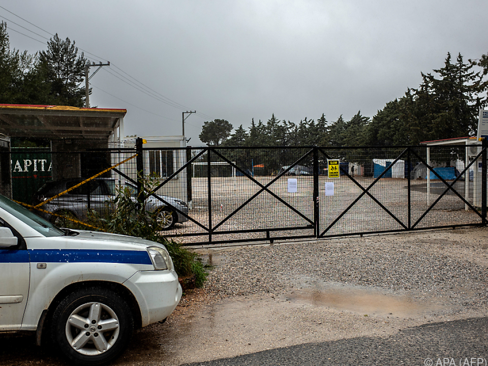 Zwei Flüchtlingslager bei Athen sind bereits unter Quarantäne