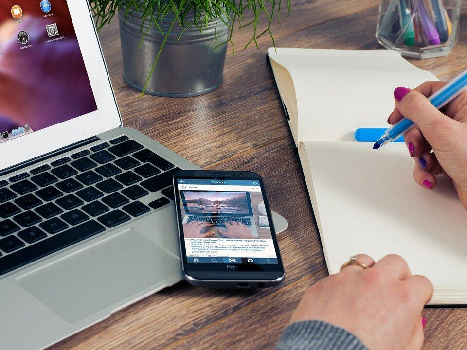 büro arbeit homeoffice laptop digital
