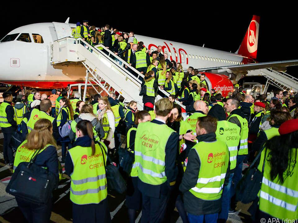 2017 landete die letzte Air-Berlin-Maschine in Berlin