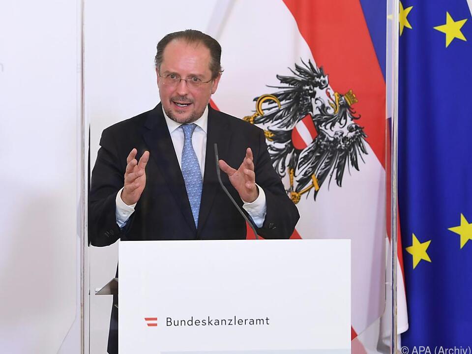 Außenminister Schallenberg sprach mit Amtskollegen Di Maio