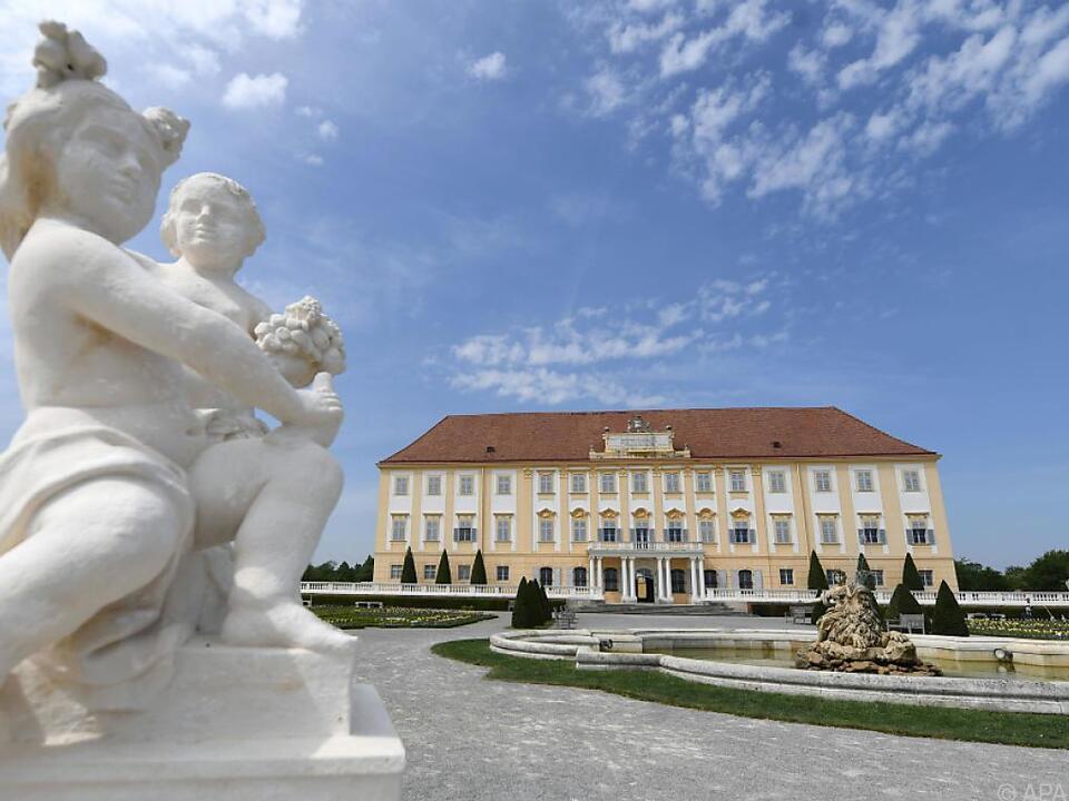 Ausstellung im Schloss Hof