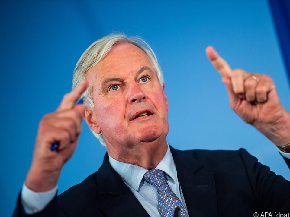 Barnier warnt vor Scheitern der Verhandlungen mit London