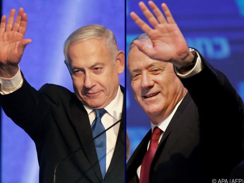 Benjamin Netanyahu und Benny Gantz dürfen regieren