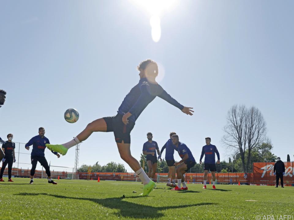 Bis zu zehn Spieler pro Trainingsgruppe sind wieder erlaubt