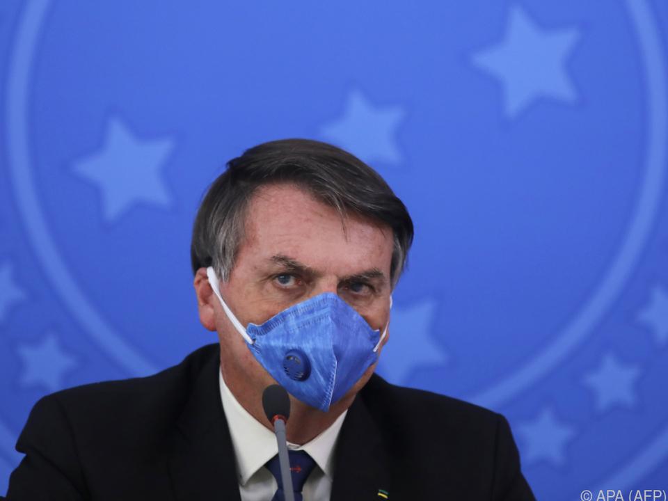 Bolsonaro unterschätzte die Gefährlichkeit des Virus