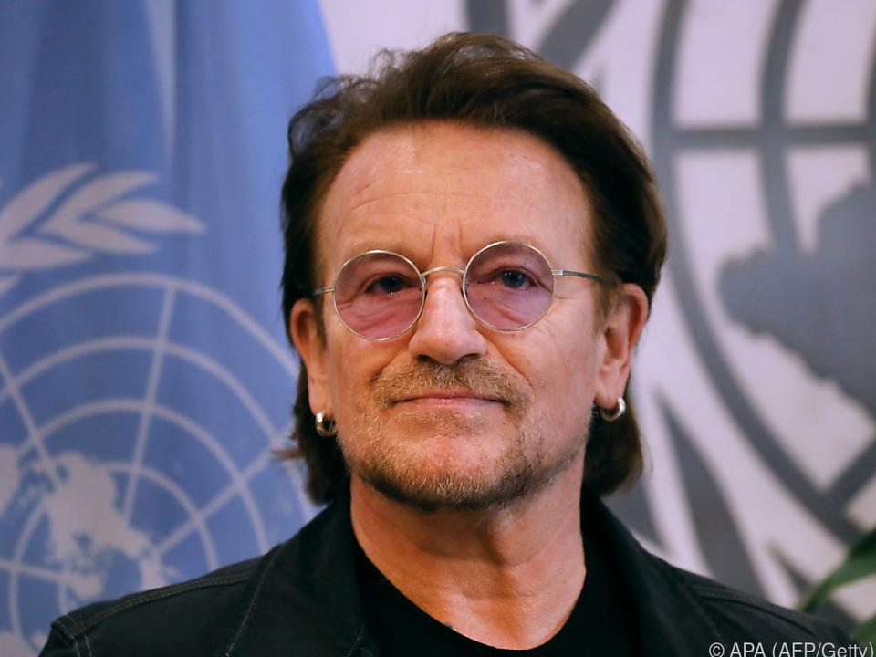 Bono widmete jedem Künstler eine Brief