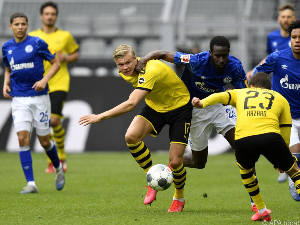 Borussia Dortmund fertigte den FC Schalke 04 4:0 ab