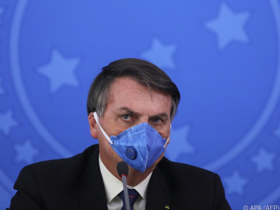 Brasiliens Präsident Bolsonaro wird Korruption vorgeworfen