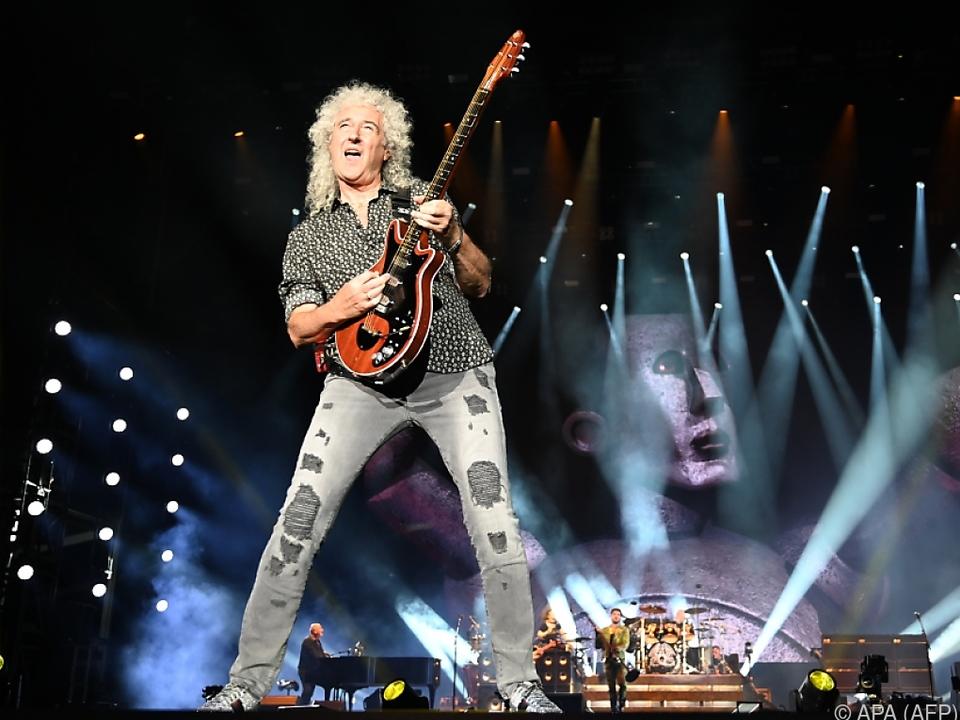 Brian May geht es mittlerweile wieder gut