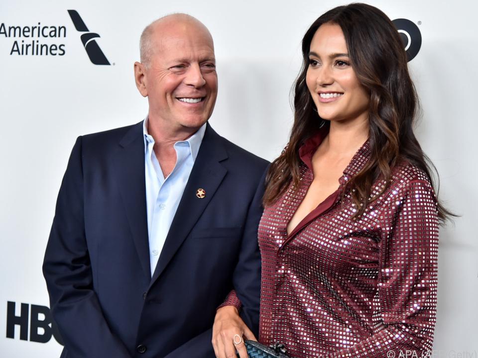 Bruce Willis hat Ehefrau Emma Heming wieder