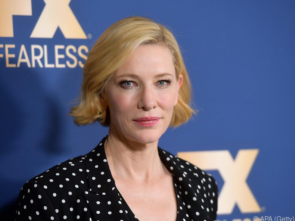 Cate Blanchett ist mit an Bord