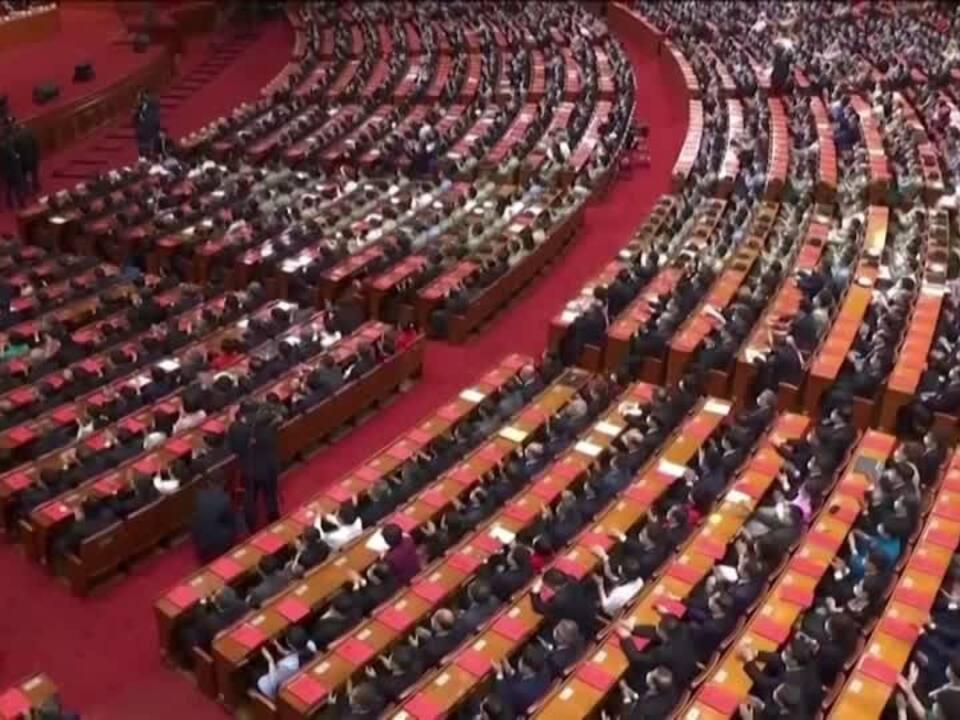 Chinas Parlament ebnet Weg für Sicherheitsgesetz für Hongkong