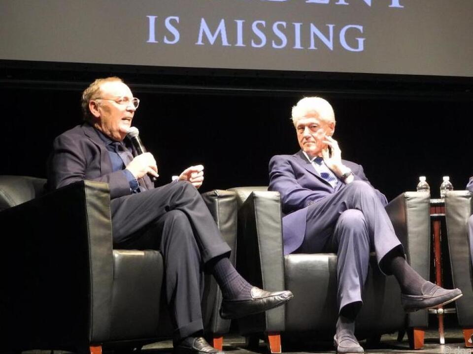Clinton und Patterson verfassten bereits gemeinsam einen Krimi