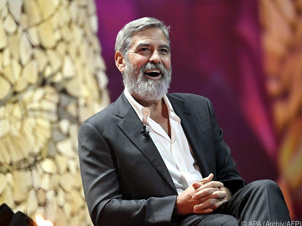 Clooney stellt sich in den Dienst der guten Sache