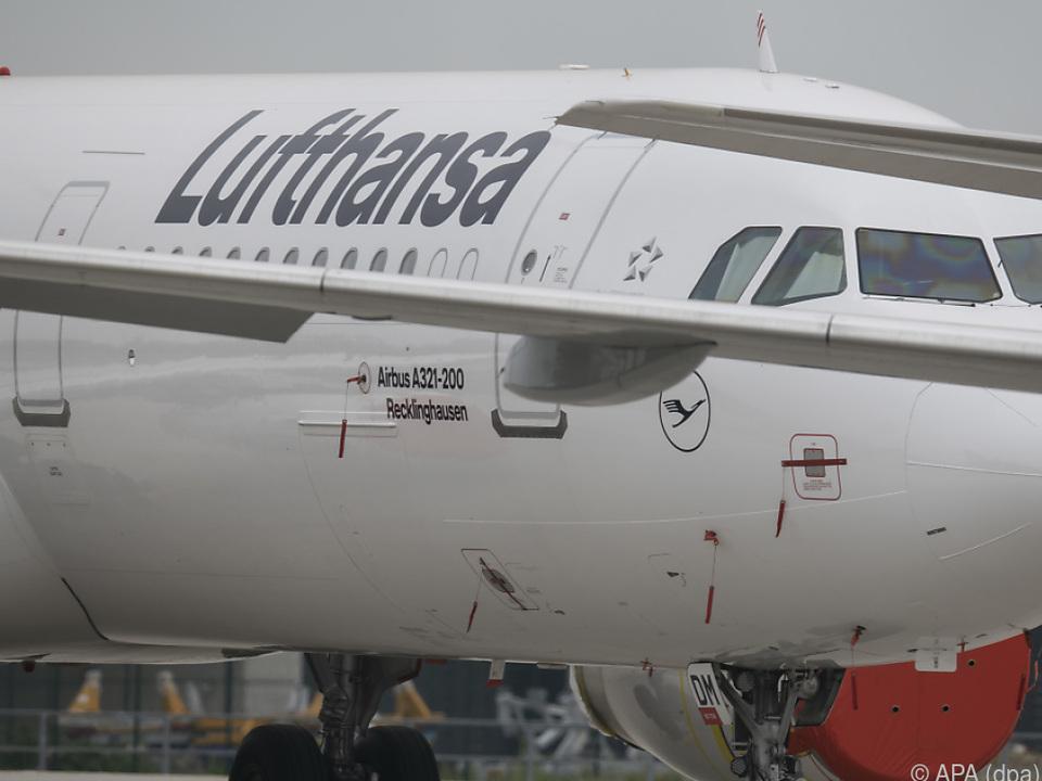 Coronapandemie macht AUA-Mutter Lufthansa zu schaffen
