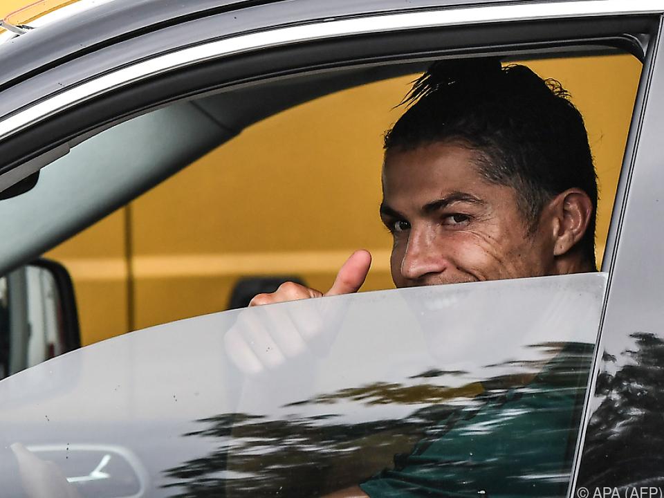 Cristiano Ronaldo freut sich schon wieder auf seine Juve-Kollegen