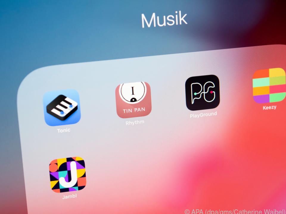 Das Angebot an Apps zum Musizieren ist vielfältig