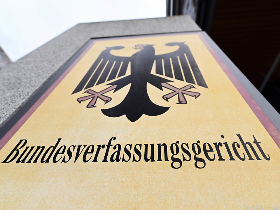 Das deutsche Bundesverfassungsgericht gab Klagen recht