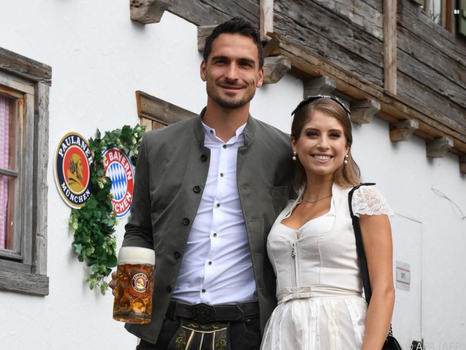 Das Ehepaar ist laut eigenen Angaben glücklich