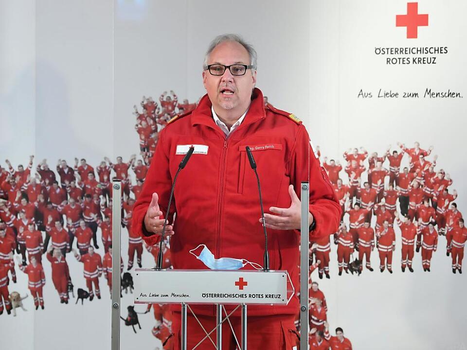 Das Rote Kreuz investierte etliche Personentage in der Coronakrise