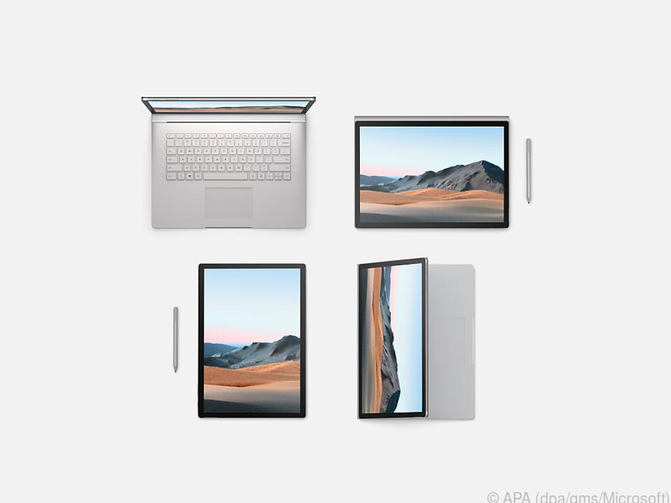 Das Surface Book 3 kostet mindestens 1.799 Euro - in der 13,5-Zoll-Variante
