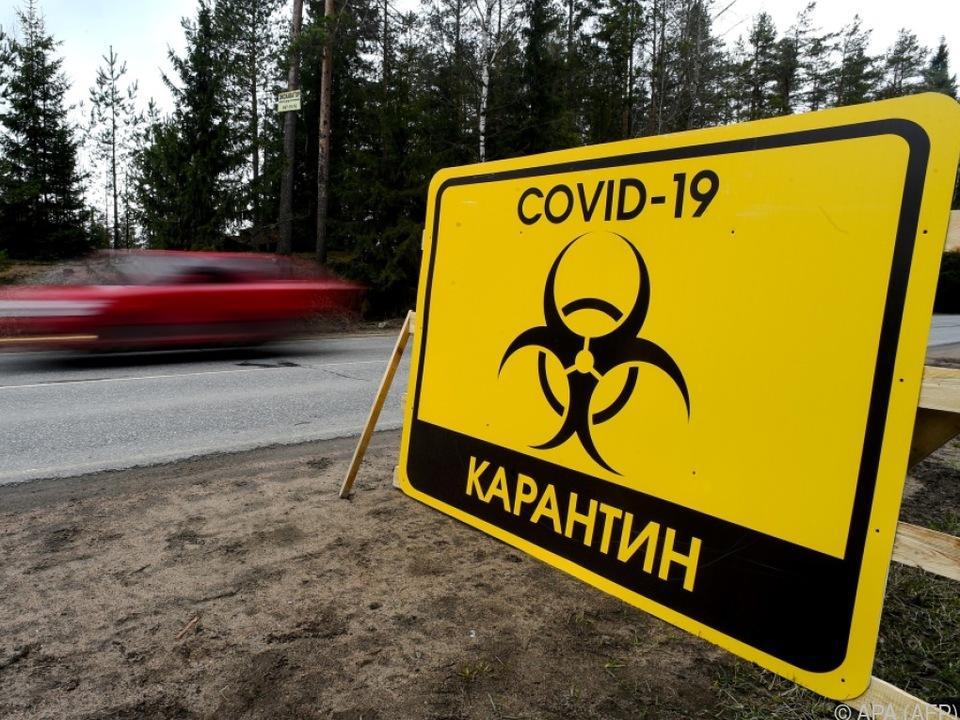 Das Virus breitet sich in Russland rasend schnell aus