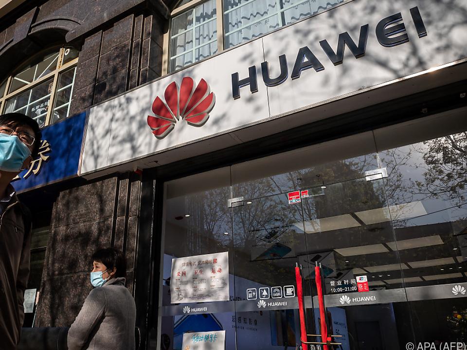 Dem chinesischen Technologieriesen geht es weiter an den Kragen