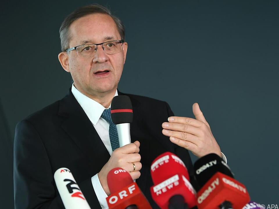 Der Chef des Flughafen Wien, Günther Ofner