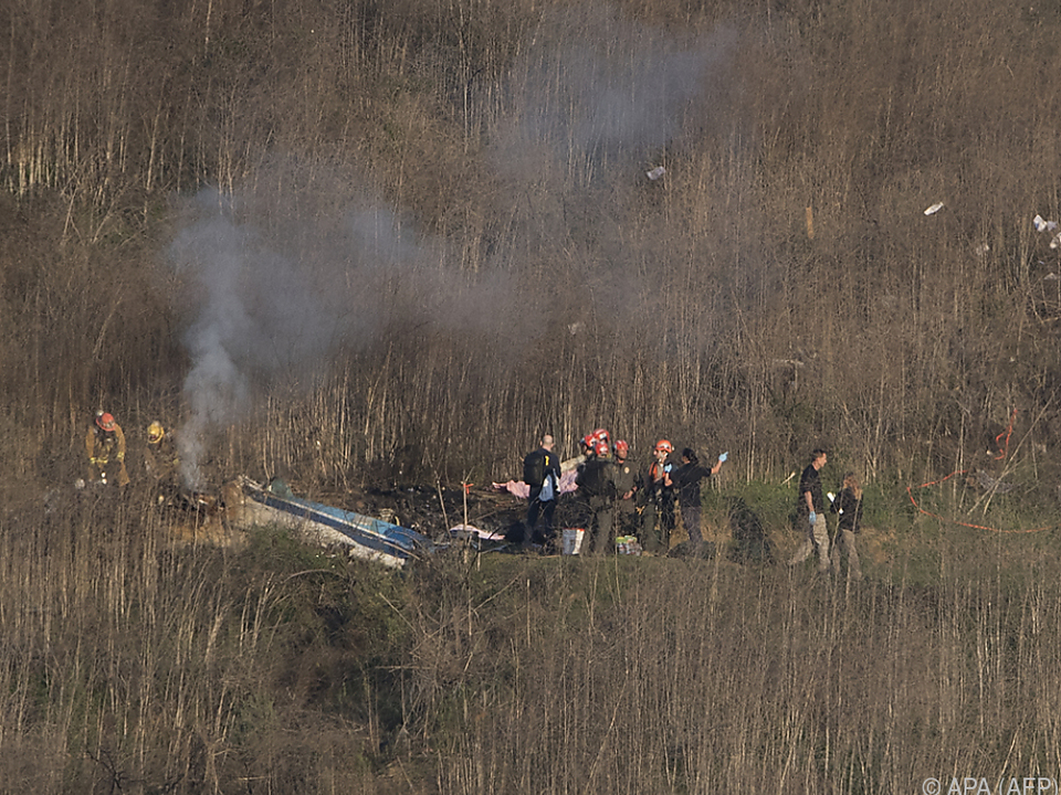 Pilot bei Tod von Bryant nicht unter Drogeneinfluss