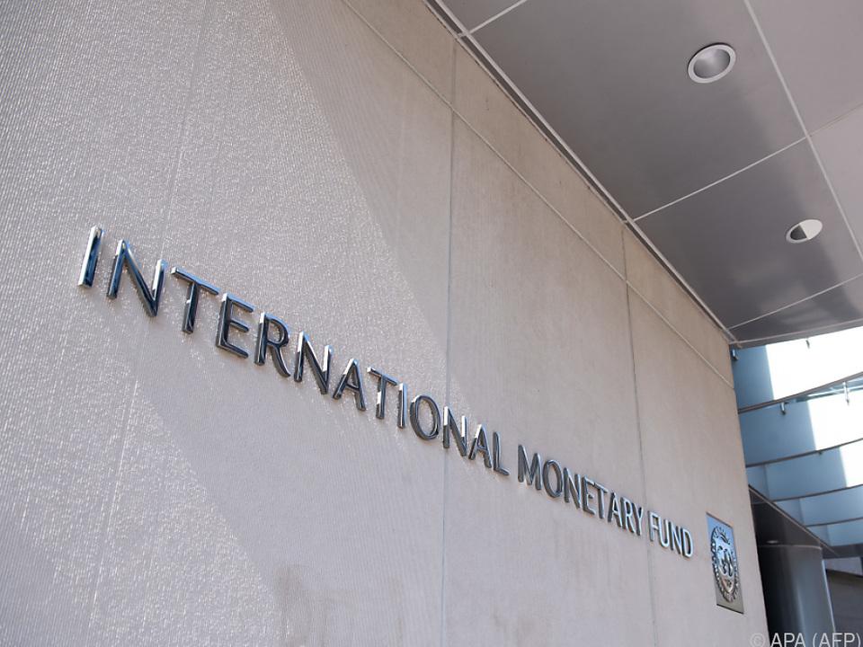 Der IWF schließt Prognosesenkung nicht aus