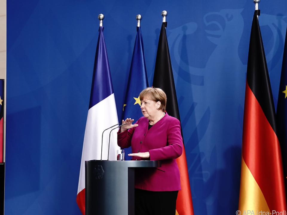 Der Plan von Merkel und Macron wird kritisch gesehen